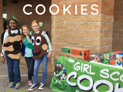 Girl Scout Cookies-Sales Lessons-Cookie Season