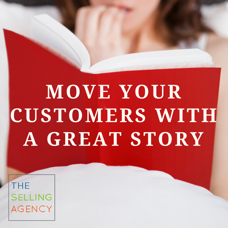 How do stories help you sell more-customers