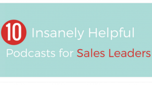 FEATURED EXPERT - 10 Insanely helpful podcasts for sales leaders Sellout show Shawn Karol Sandy