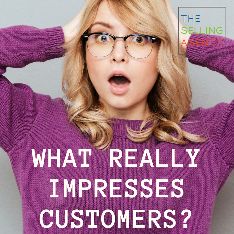 How do you really impress customers
