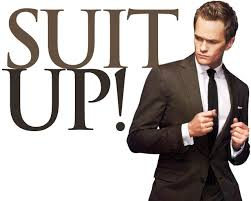 Rock the suit.