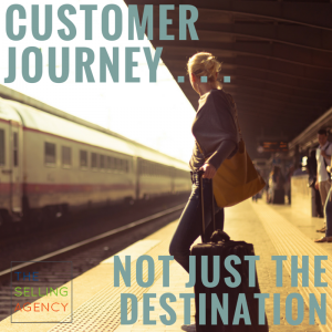 customer journey not just destination - customer service - sales process