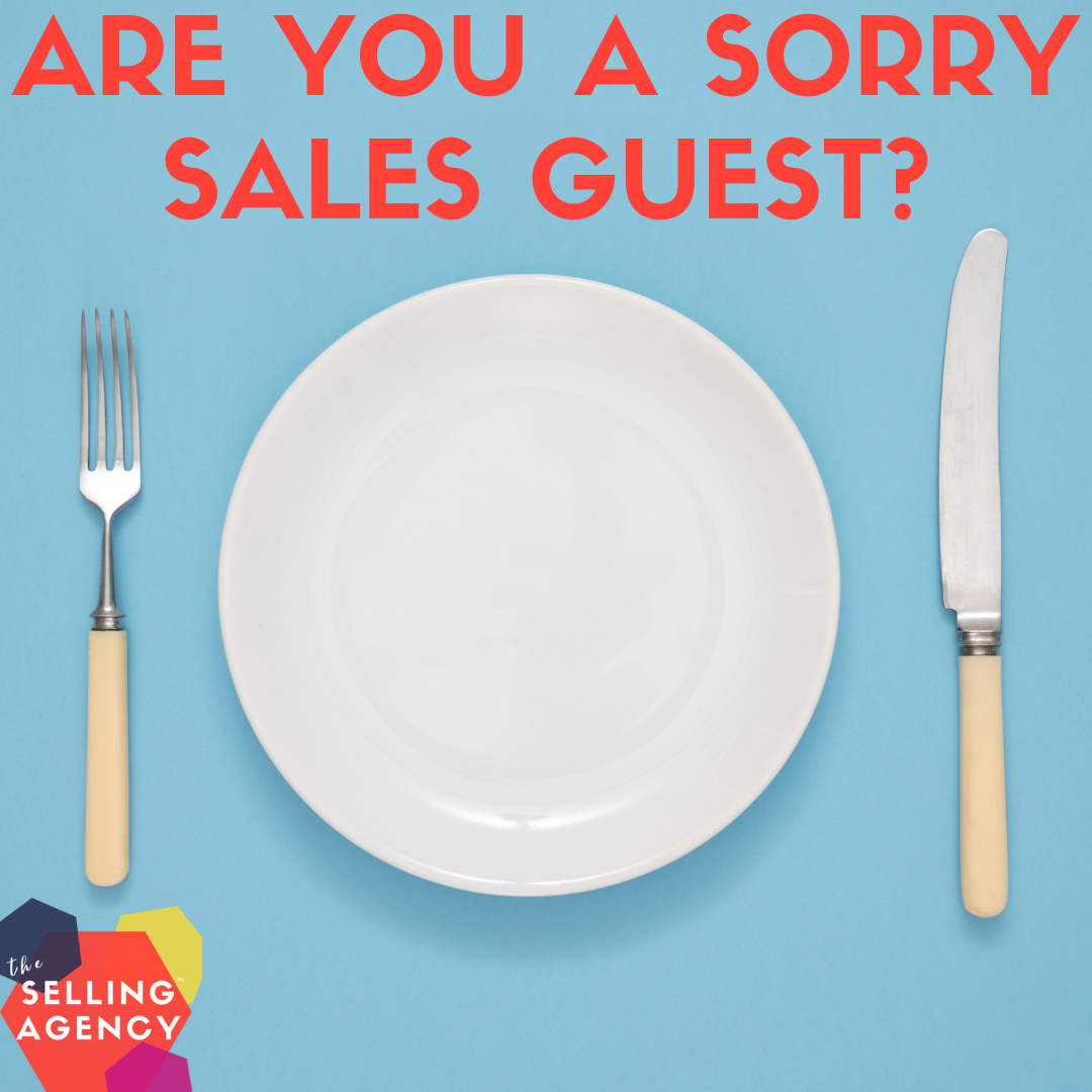 Are you a sorry sales guest