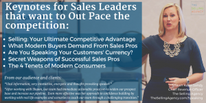 Sales Speaker-Sales Coaching-Kickoff Meetings-Keynotes-Differentiation-Customers-Shawn Karol Sandy