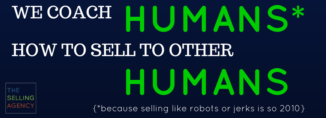 how to sell to humans