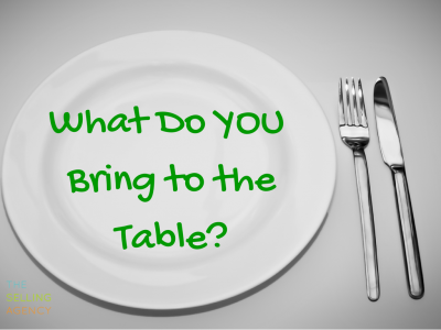 Are you a sorry dinner guest or bad sales person?