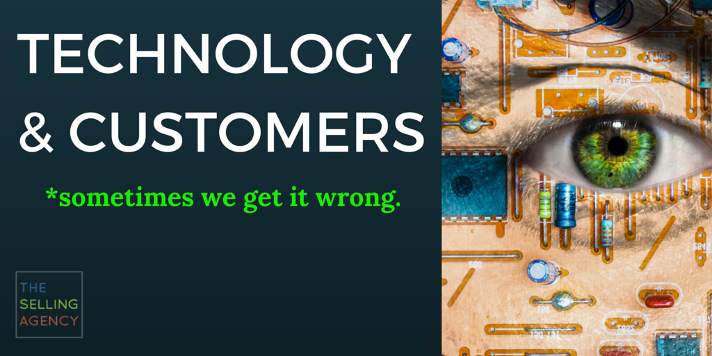 Are you using technology to push your customers away or bring them closer to you?
