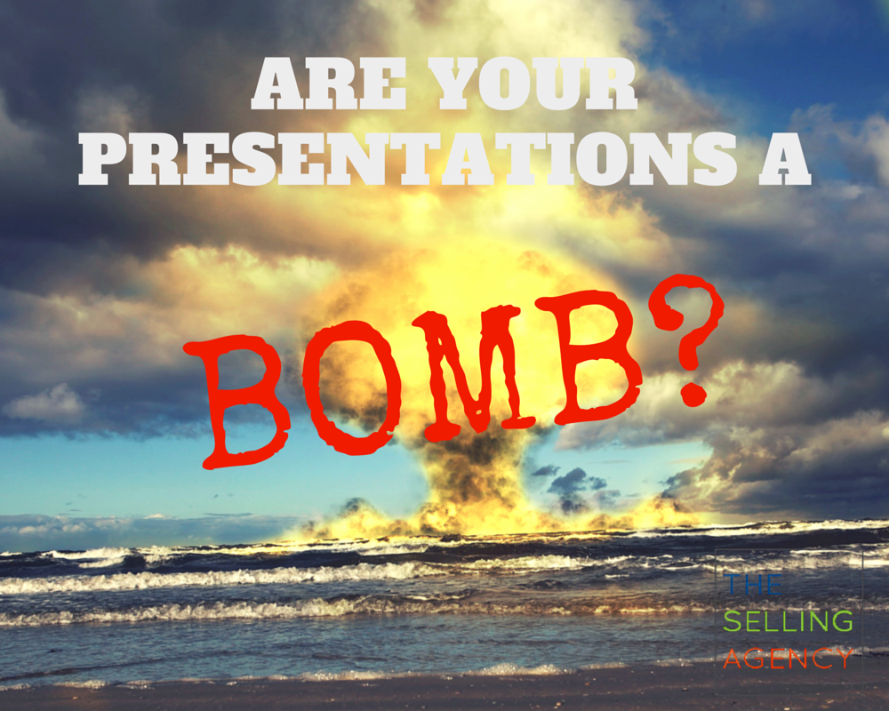 are your presentations a bomb?
