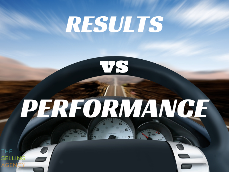 Results vs Performance and the Business Dashboard