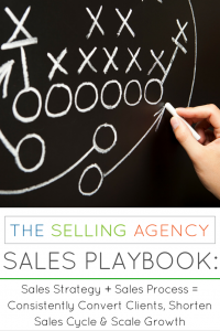Sales Strategy plus Sales Process equals Business Growth: The Sales Playbook