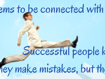 Sales Action Quote: Success is connected with action. Successful People keep moving forward.
