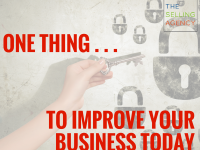 Take off your blinders, walk around the desk, around the counter and seek outside perspective to improve your business.