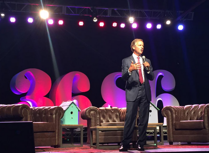 TN Governor Bill Haslam on supporting innovation and entrepreneurs--Photo courtesy of Mojo Media Pros