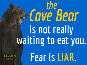 Fear is the biggest obstacle standing between us and our objectives – earning promotions, sales or customers.