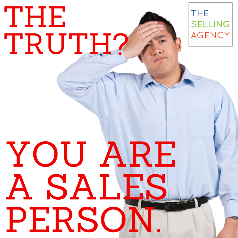 "It's financially detrimental when you make ""Sales"" an afterthought in your business."