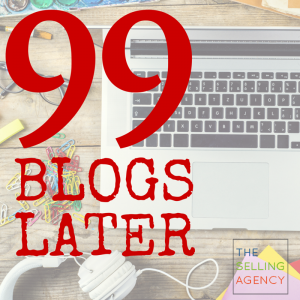 99 BLOGS LATER - 3 lessons learned