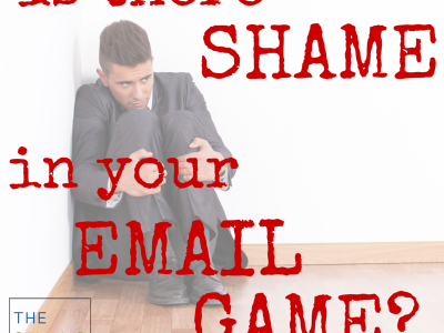 Shame in your email game: 5 top email blunders of small busiiness