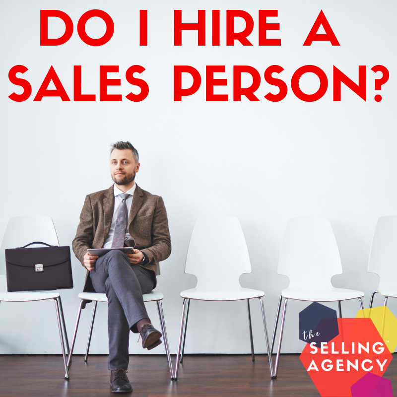 When and how do I hire a salesperson