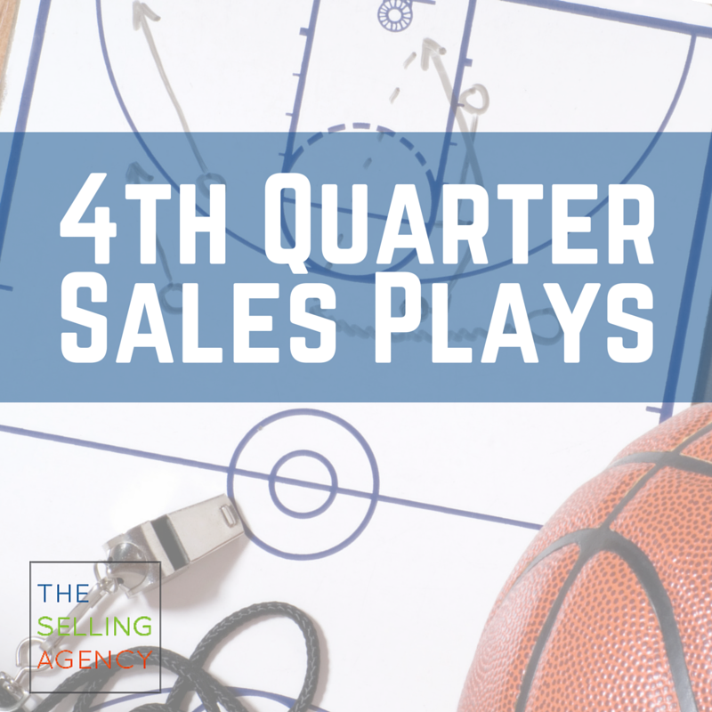 4th quarter sales push
