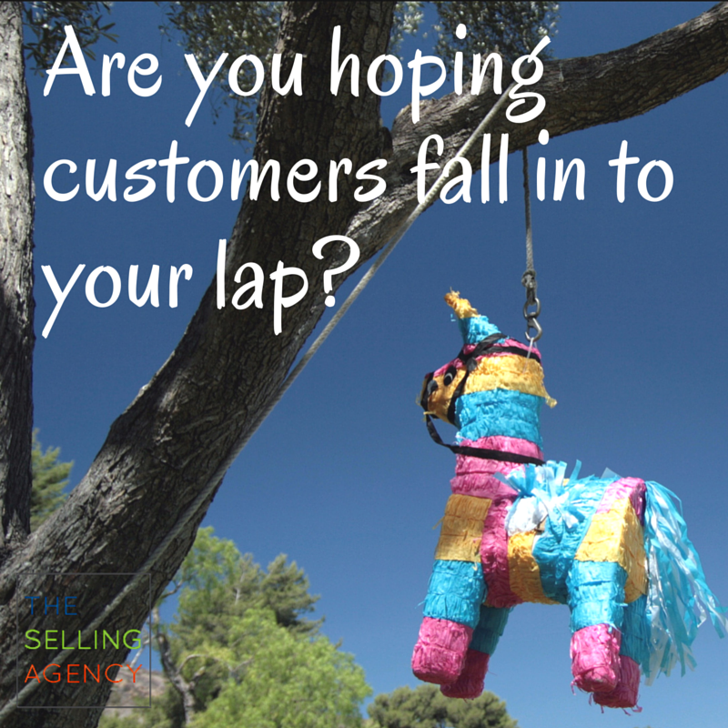 Hoping for customers-Selling-Competitive-Advantage-Differentiation