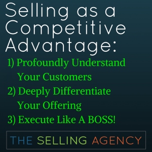 Selling-Competitive Advantage-Differentiation-Customer Currency