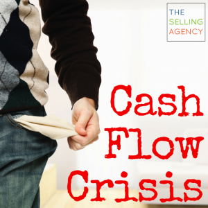 Cash Flow Crisis_Small Business_Sales Process_Sales Strategy_Stop Winging It