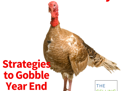 Dont be a turkey-Year end sales strategies