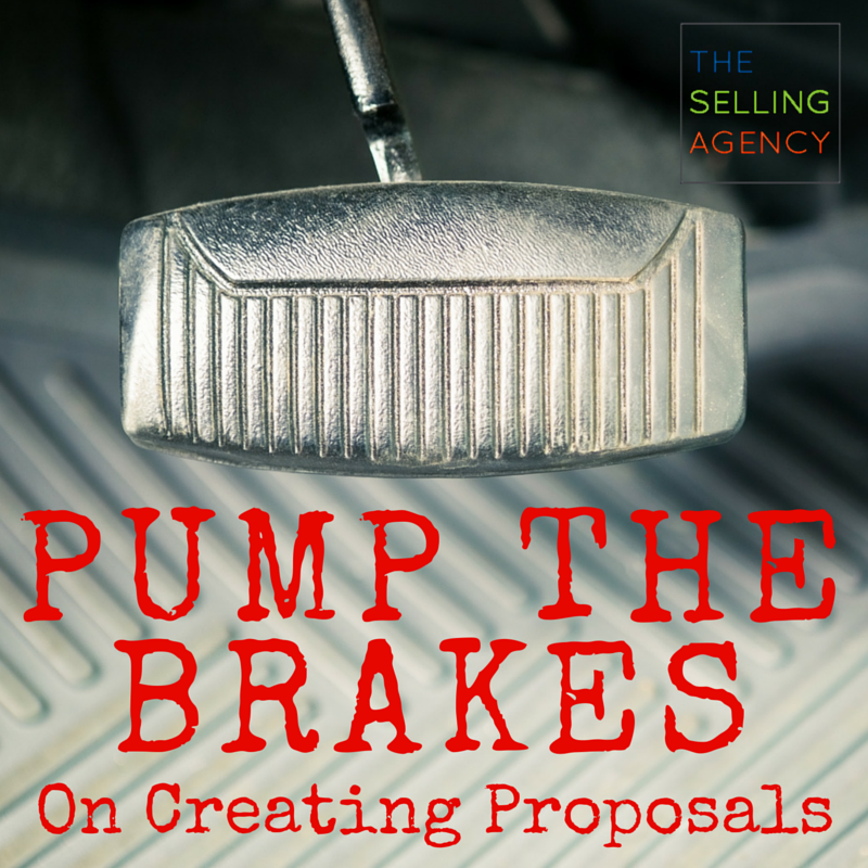 Common Sales Fail - Stop - preparing - proposals - prevents - buyers - brushoff