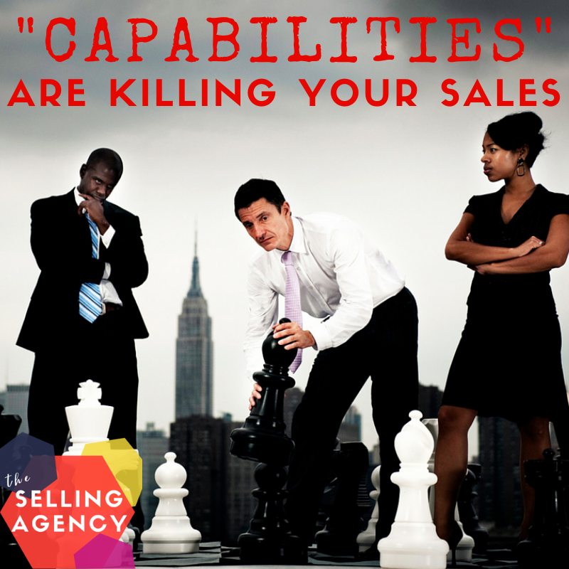 Capabilities vs Differences make a big sales difference