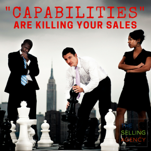 talking about Capabilities instead of Differences is killing your sales and profit margin
