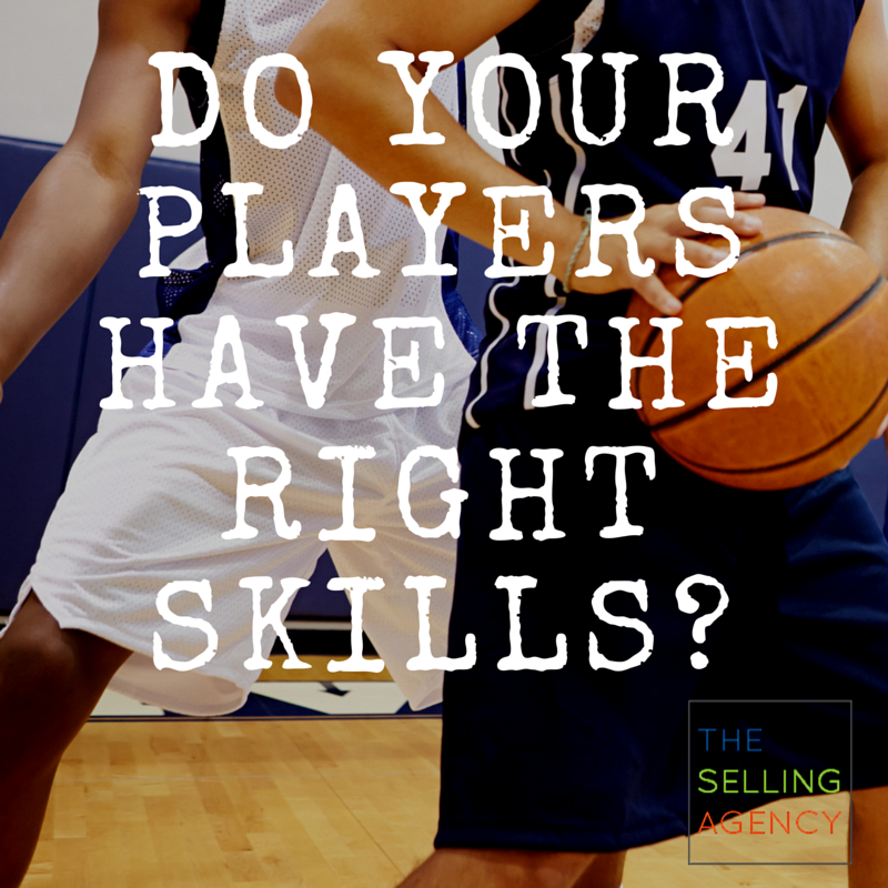 Basketball and Business, Does your team have the right skills?