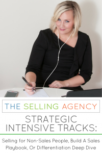 Strategic Intensives-one day coaching sessions-shawn karol sandy- selling for nonsales people-professionals