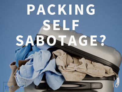 packing self sabotage, buyers don't need your baggage