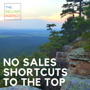 no sales shortcuts to the top, Sales Process, Shortcuts, Value, CEO, Executives, Single Threaded, Advocates, Opportunities, Trail, Success, Switchbacks, Blogs, Inspiration