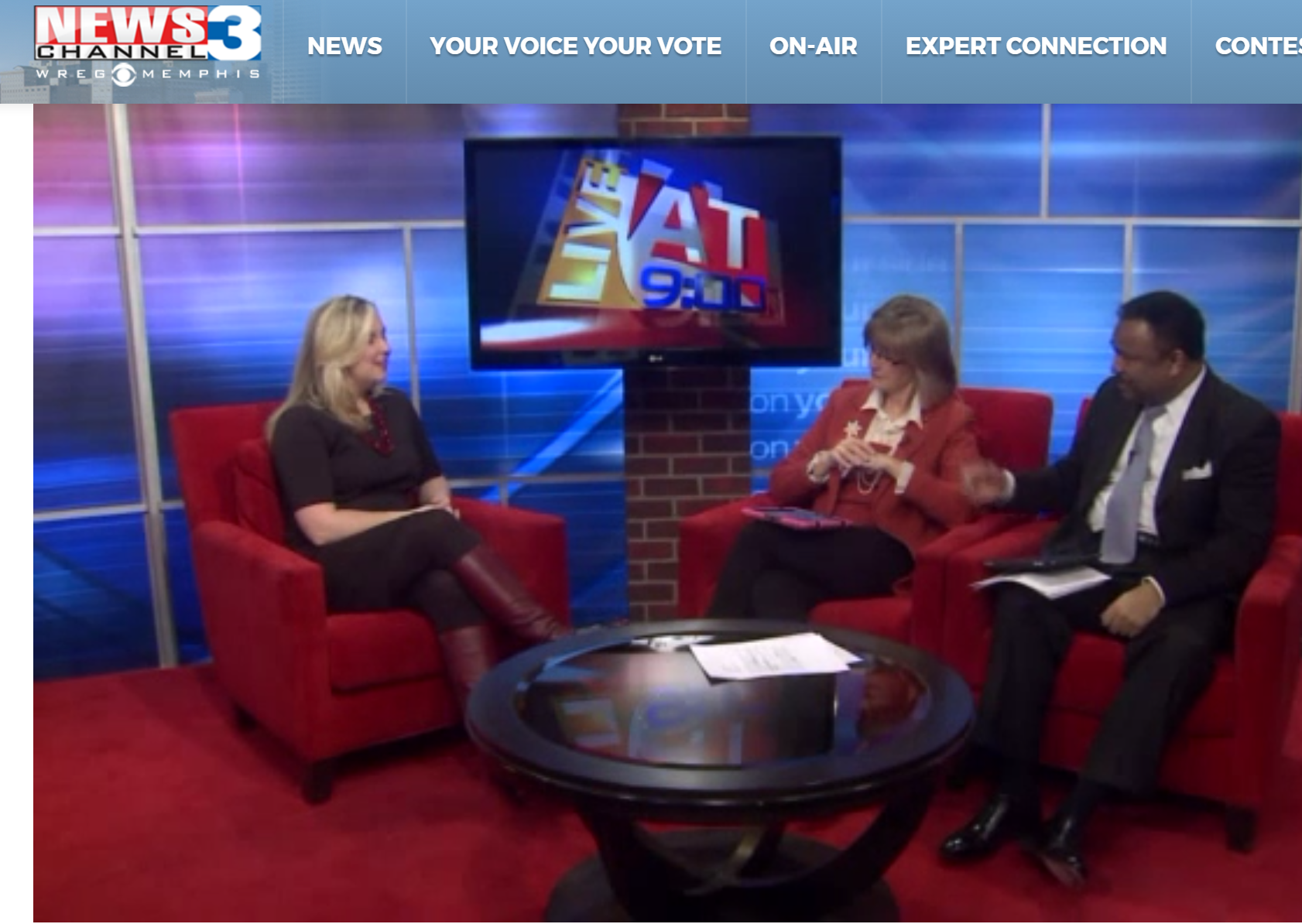 Shawn Karol Sandy FEATURED EXPERT: Interview on WREG - Ramp up your digital image