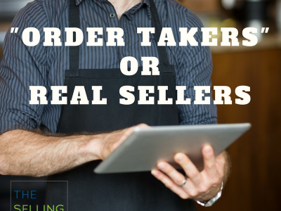 've got fake sales reps on your team