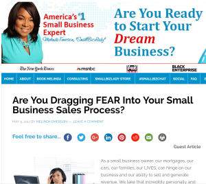 Guest Author Shawn Karol Sandy of The Selling Agency. Featured by Melinda Emerson Small Biz Lady SucceedAsYourOwnBoss