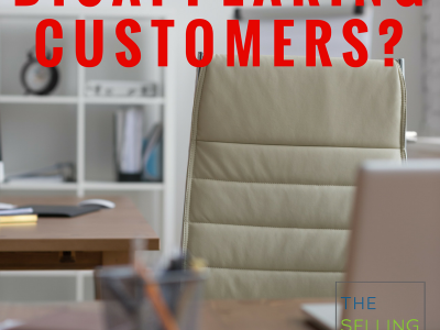 What do you do with disappearing customers?