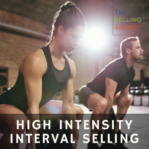 High intensity interval selling, Rock your Business Development Results with THIS new Challenge