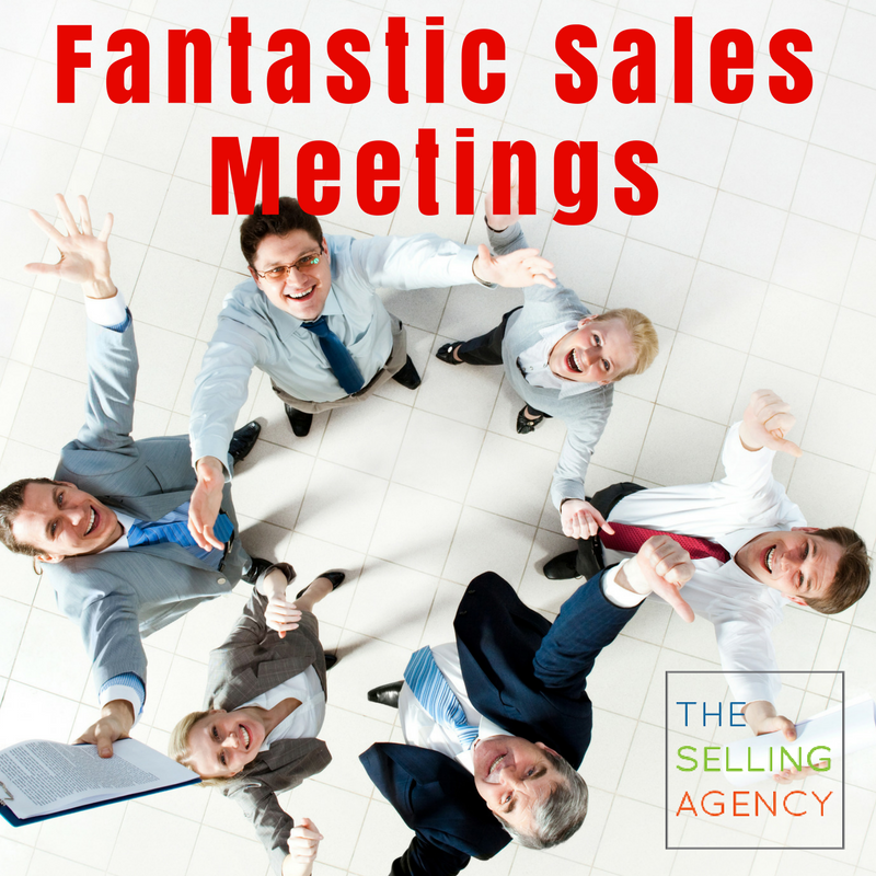 Design a Fantastic Sales Meeting