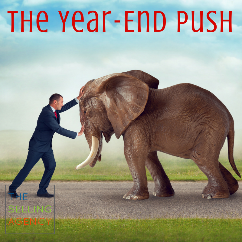 Feeling the sales squeeze? 3 ways to improve your year end push