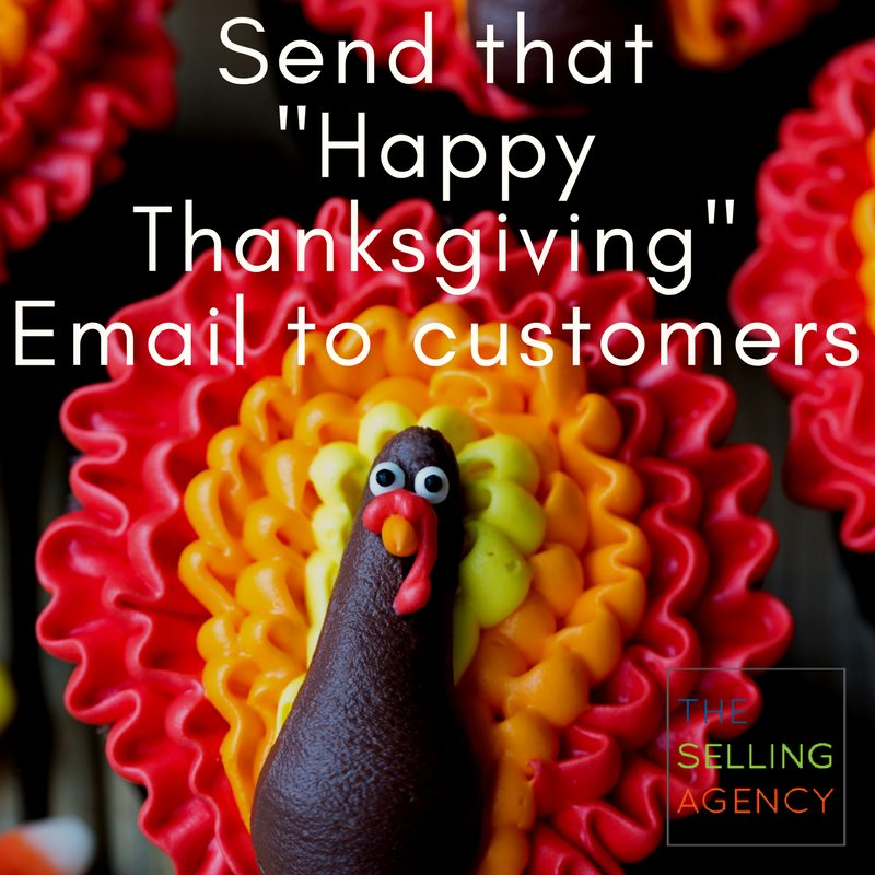 Send that Thanksgiving email