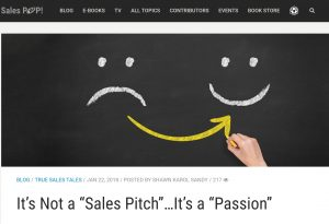 SalesPop Pipeliner CRM It is not a sales pitch - it is a passion - guest shawn karol sandy Selling agency