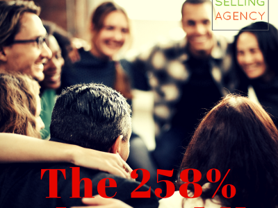 How to earn a 258% Sales Advantage