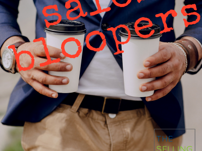 Sales Bloopers can bring customers closer