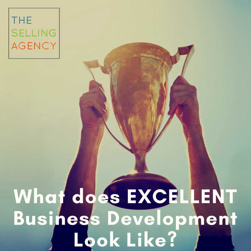What does EXCELLENT Business Development Look Like