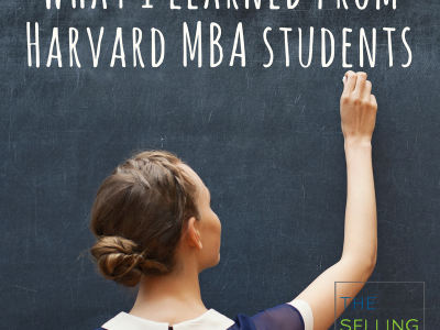 What I learned from Harvard MBA students
