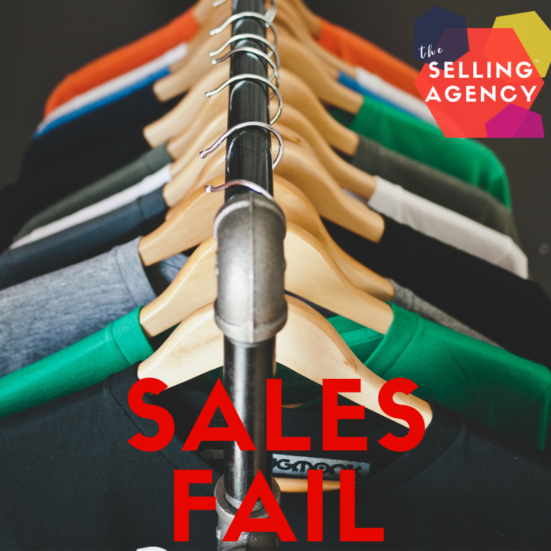 Small Business Sales Fails