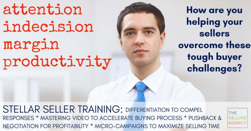 How are you overcoming sales challenges? Training and Skill Building