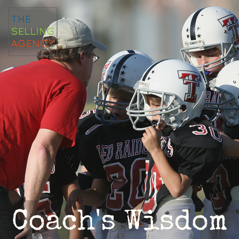 Coach's Wisdom for sellers and sales pros